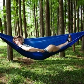 Portable Outdoor Parachute Hammock with Mosquito Nets (Blue)