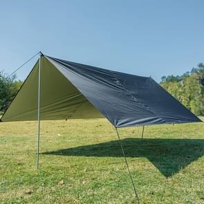 Multi-functioneel Outdoor waterdicht zonnebrandcrème strand luifel Tent Sun Shelter Pergola (zwart)