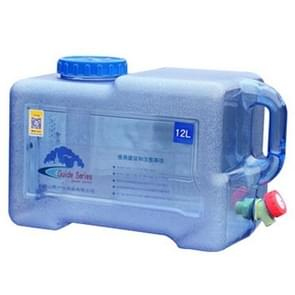 Food Grade PC Drinking Water Storage Bucket Outdoor Camping Accessories, Capacity: 12L