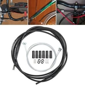 Universele fiets remkabel buis set (zwart)