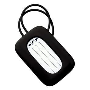 Original Xiaomi 90Fun Colorful Silicone Luggage Tag Travel Bag Identification Tag(Black)