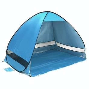 Opvouwbare vrij om te bouwen van automatische snelle snelheid Open buiten Camping strand Tent met draagtas voor 2 volwassenen of 3 kinderen gebruiken  maat: 2x1.2x1.3m(Blue)