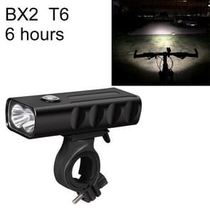 BX2 USB Charging Bicycle Light Front Handlebar Led Light (6 Hours, T6 Lamp Beads)