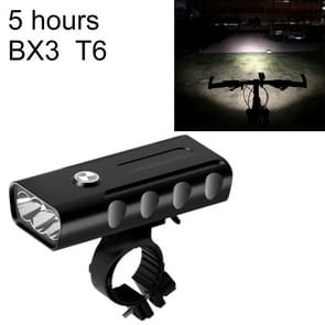 BX3 USB Charging Bicycle Light Front Handlebar Led Light (5 Hours, T6 Lamp Beads)