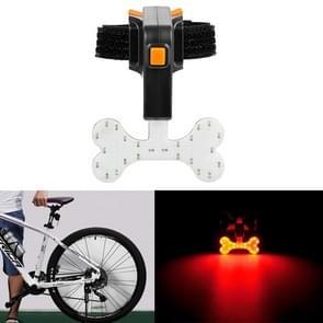 USB-Oplaadlampje achterlicht veiligheidswaarschuwing (Botstijl)