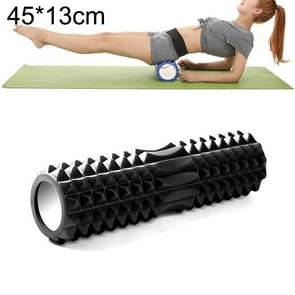 Yoga Pilates Fitness EVA Roller Muscle Relaxation Massage, Size: 45cm x 13cm (Black)