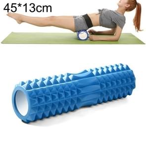 Yoga Pilates Fitness EVA Roller Muscle Relaxation Massage, Size: 45cm x 13cm (Blue)