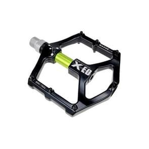 SHANMASHI 1031 Magnesium Alloy Pedaal Non-slip comfortabel fiets vouwpedaal (Groen)