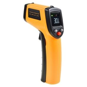 GM333 Portable Digital Laser Point Infrared Thermometer, Temperature Range: -50-400 Celsius Degree