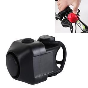 Fiets Elektrische Hoorn  met Klok (Zwart)