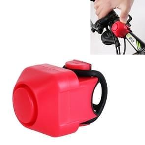 Fiets Elektrische Hoorn  met Klok (Rood)