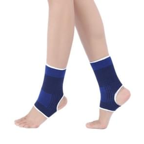 2 PCS Elastic Sports Ankle Support Guards, Afmeting: 19 x 8cm (Royal blauw)