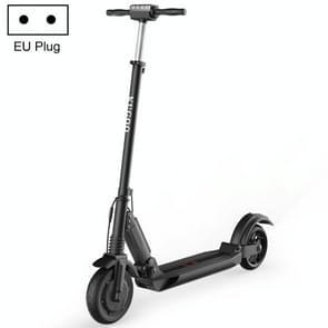 [EU-opslagplaats] KUGOO S1 350W In hoogte verstelbare opvouwbare elektrische scooter met LCD Display & LED-verlichting & Drietrapsmodus  laadvermogen: 120kg  EU Plug(Zwart)