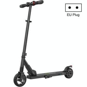 [EU-opslagplaats] S1 250W 6.0 inch Band Folding Bromfiets Elektrische Fiets E-Scooter  EU Plug(Zwart)