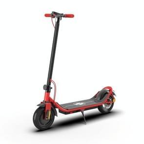 [EU Warehouse] 500W Opvouwbare IP64 Waterdichte Magnesium Legering Elektrische Scooter met 10 inch Banden & LED Display & LED-verlichting & 10AH Lithium Batterij  Laadcapaciteit: 100kg(Rood)