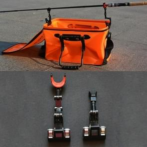 Fishing Rod Bracket 2 in 1 Adjustable Fishing Tackle Raft Boat Rod Pole Stand Bracket Mount Holder Rest Rack