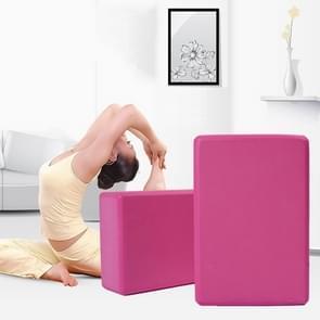 Hoge dichtheid Yoga blok schuim baksteen vrouwen Home oefening Fitness Gym praktijk hulpprogramma Health  grootte: 23 * 15 * 7.5 cm