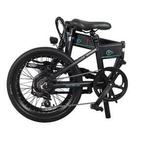 [EU-opslagplaats] Fiido D4S 10.4Ah 250W Drie-speed variabele snelheid 20 inch Spaak wiel opvouwbare elektrische fiets  crack snelheid tot 30km/h (Zwart)
