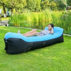 Hoofdkussen opblaasbaar ligbed 210T Polyester stof compressie airbag Sofa voor strand / reizen / Hospitality / Hengelsport  Size: 260 cm x 70 cm (blauw)