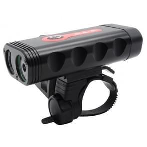 Fiets voorlicht koplamp met 5 modi Y10 2 x XTG-3 LEDs 600LM USB Charging geleid