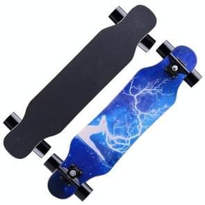Maple materiële vier wielen Skateboard modieuze tieners Scooter voor Beginners  willekeurige stijl-levering