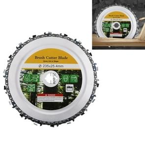 9 inch Wood Slotted Saw Blade Angle Grinder Chain Tray