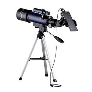 WR852-3 16x/66x70 High Definition High Times Astronomical Telescope with Tripod & Phone Fixing Clip & Moon Filter