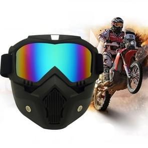 Motorfiets Off-road helm masker afneembare winddicht bril Glasses(Colour)