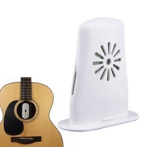 Acoustic Guitar Humidifier Fret And Wood Cracks Eliminator For Ukulele(White)