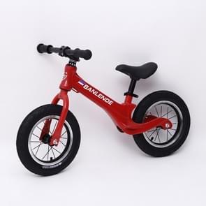 Kinderen Balance Bike Zonder Pedaal Driewielige Alloy Slide Peuter Fiets (Rood)