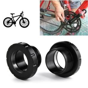 BSA30 Press Fit Style Bottom Bracket Fits 68-73mm for SRAM, FSA, Rotor, Raceface Mountain Bike (Black)
