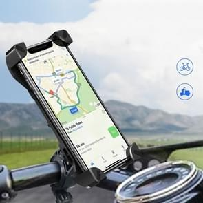 FLOVEME multifunctionele universele 360 graden draaibare motorfiets mobiele telefoon houder