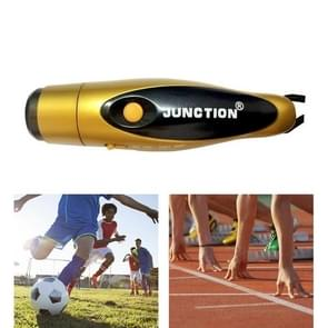Outdoor Training Referee Coach Chargeable Electronic Whistle (Gold)