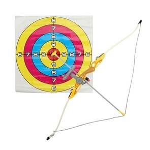 MoFun 9922-22 1:1.8 Special Composite Material Simulation Bow Arrow + Shooting Large Safety Suction Cup Bow Arrow Set(Gold)