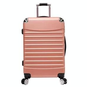 20 inch Aluminium Spinner Travel Suitcase Hand Luggage Trolley with Wheel(Champagne Gold)