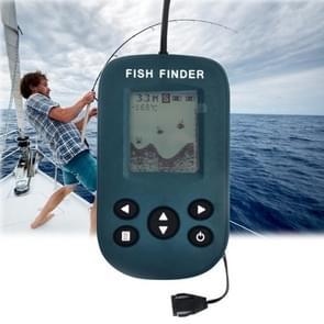 YDH-01 200KHz Sonar Sensor 0.7-100m Depth Wired Sounder Alarm Fish Finder with LCD Display