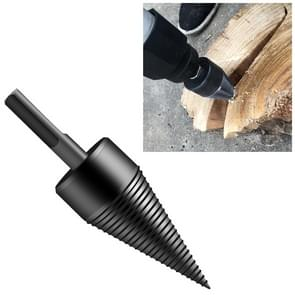Household Domestic Woodcutter Drill Electric Wooden Split Cone Drill 42mm Hexagon Shank