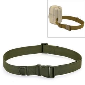 Buiten rijden wandelen Sport militaire stijl multifunctionele taille gordel (leger-groen)