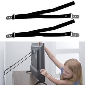 2 PC's anti-schuine stand vaste Band LCTV meubels tot vaststelling van de riem kind veiligheidsuitrusting