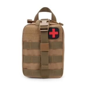 Outdoor Travel Portable First Aid Kit (Khaki)