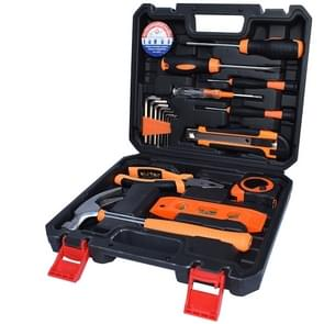 STT-019S Multifunction Household 19-Piece Electrician Repair Toolbox Levelling Instrument Suit
