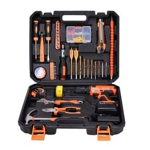 STT-044A Multifunction Household 44-Piece Electrician Repair Toolbox 21V Lithium Electric Drill Suit