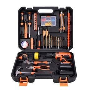 STT-044A multifunctionele huishoudelijke 44-delige elektricien reparatie Toolbox 21V Lithium elektrisch Boorpak