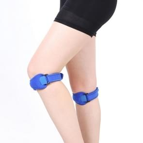 2 PCS SMD-0114 Outdoor Sport Knee Joint Protective Belt Anti-sprain Patellar Band (Blue)