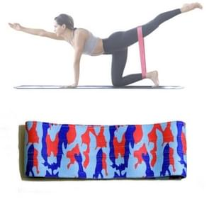ZY-001 Yoga Stretch Belt Buttocks Sport Resistance Band Chest Developer, Size : M (Camouflage)