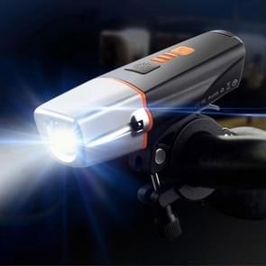BC21 10W 400LM IP65 LED USB Charging Waterproof Bicycle Headlight
