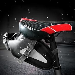 Outdoor Waterproof Multi-functional PVC Bag Tool Bag for Bicycle (Black)