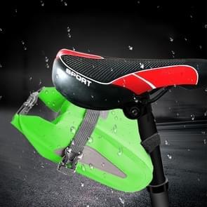 Outdoor Waterproof Multi-functional PVC Bag Tool Bag for Bicycle (Green)