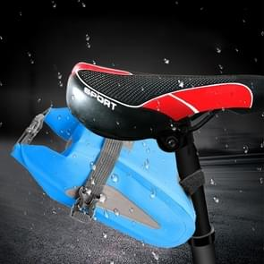 Outdoor Waterproof Multi-functional PVC Bag Tool Bag for Bicycle (Sky Blue)