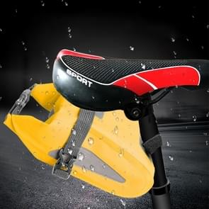 Outdoor Waterproof Multi-functional PVC Bag Tool Bag for Bicycle (Yellow)
